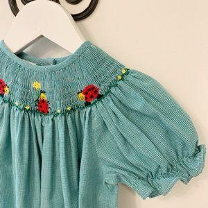 Other - Smocked Ladybug Dress